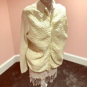 Sam Simeon high end quilted sweater